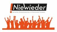 Nie Wieder Initiative Erinnerungstag im deutschen Fußball Logo