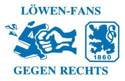 Löwenfans gegen Rechts Logo