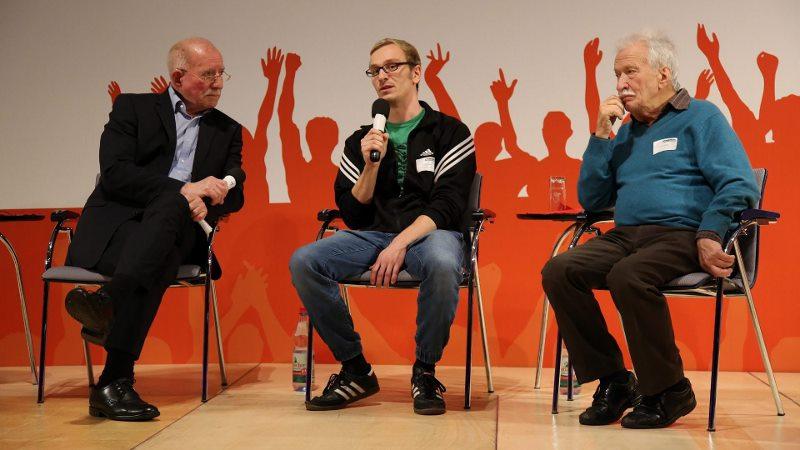 Werner Hansch, Conrad Lippert und Ernst Grube
